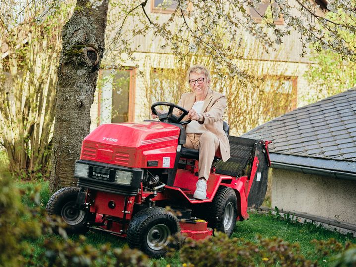 Gartenfreuden: Ex-Opel-Managerin Rita Forst daheim