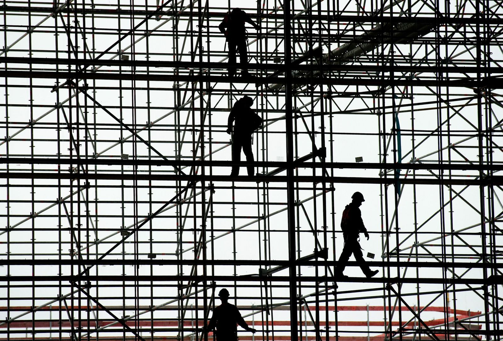 Deutschland / Konjunktur / Baustelle / Arbeitnehmer / Wirtschaft