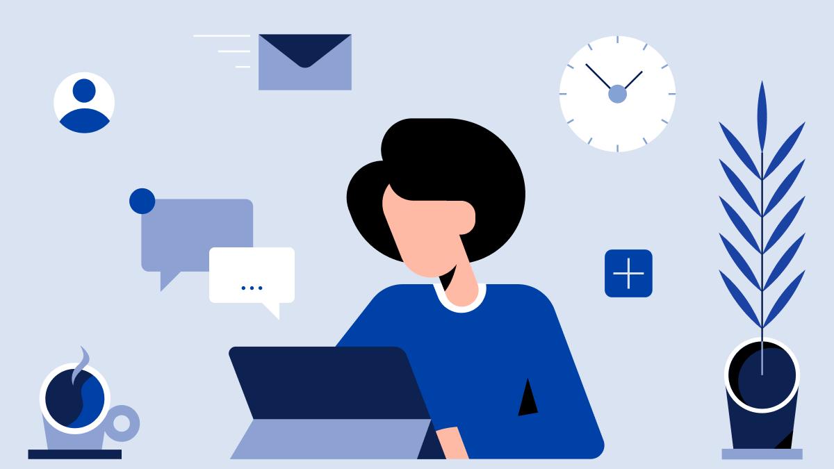Illustration: manage>forward / Header E-Mail
