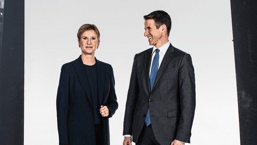 Jobbörse: Susanne Klatten und Stefan Quandt auf Wechselkurs