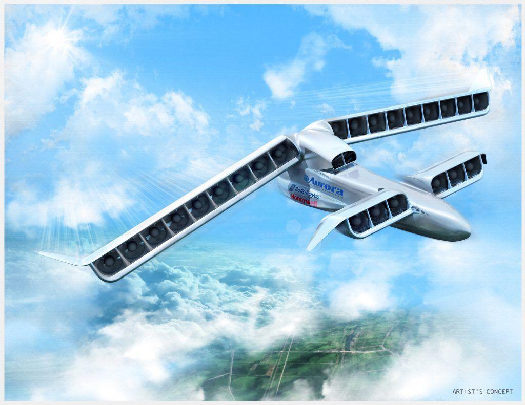 LightningStrike VTOL X-Plane / Aurora Flight Sciences