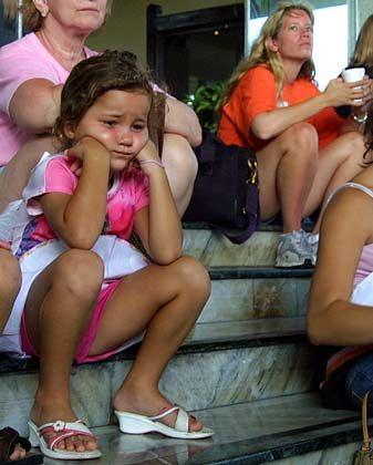 """Hurrikan """"Emily"""", 17.07.2005: Warten, bis es vorbei ist"""