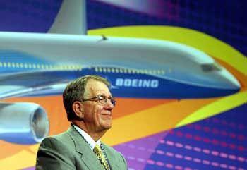 Kein Verständnis für Staatshilfen bei Airbus: Harry Stonecipher, Boeing 7E7