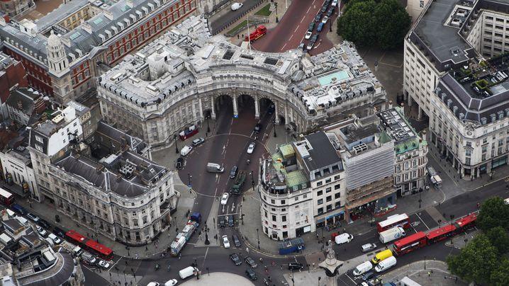 Nobeladresse mit Geschichte: Das ist der Admiralty Arch in London