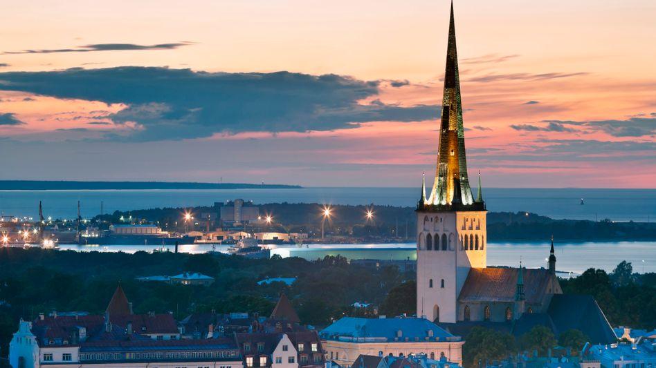 Hauptstadt Tallinn: Nach tiefer Krise präsentiert sich Estland als wirtschaftlicher Musterschüler