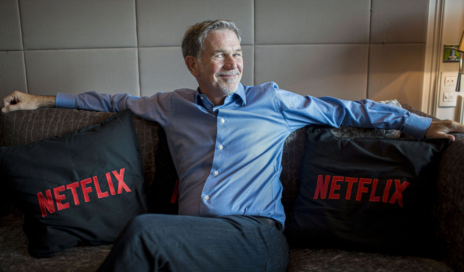 Co founder and director of Netflix Reed Hastings MADRID PUBLICATIONxINxGERxAUTxHUNxONLY SERGIOxGONZ