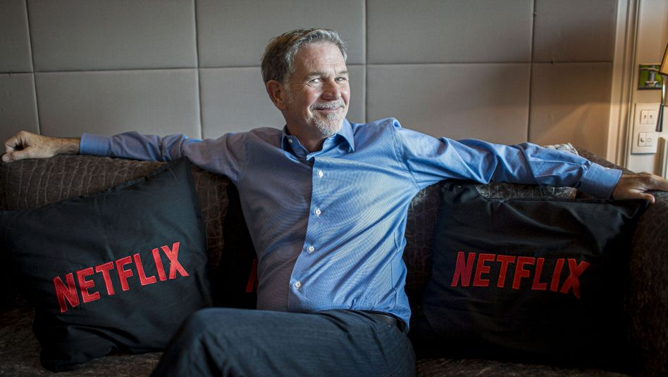 Knallhartes Feedback erwünscht: Netflix-Gründer Reed Hastings.