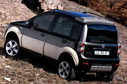 Fiat Panda Cross: Die Autosparte des Konzerns hat das vergangene Geschäftsjahr mit einem Nettogewinn abgeschlossen