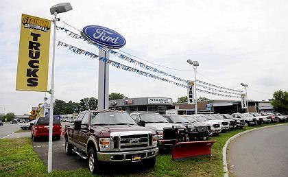 Ford-Händler in New Jersey: Die Absatzkrise zwingt den Konzern zum Notverkauf