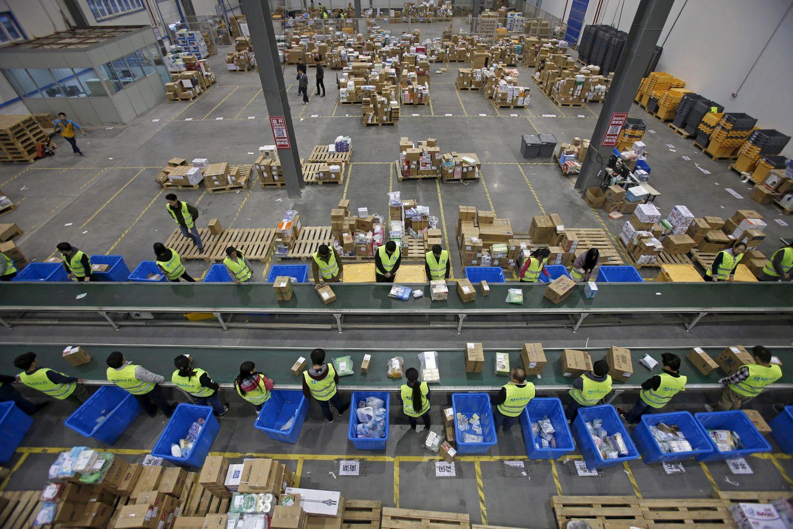 Onlinehandel / China / Logistik