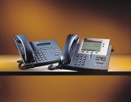 Auch das gehört zum Netz: Innerhalb kürzester Zeit ist Cisco zu einem bedeutenden Hersteller von Telefonen aufgestiegen