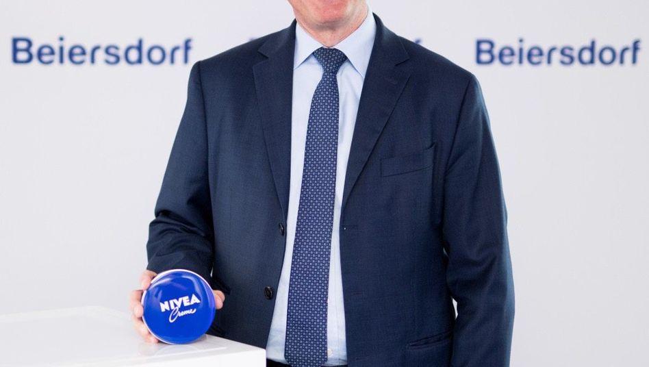 Das war er noch Chef des Nivea-Herstellers Beiersdorf: Stefan Heidenreich