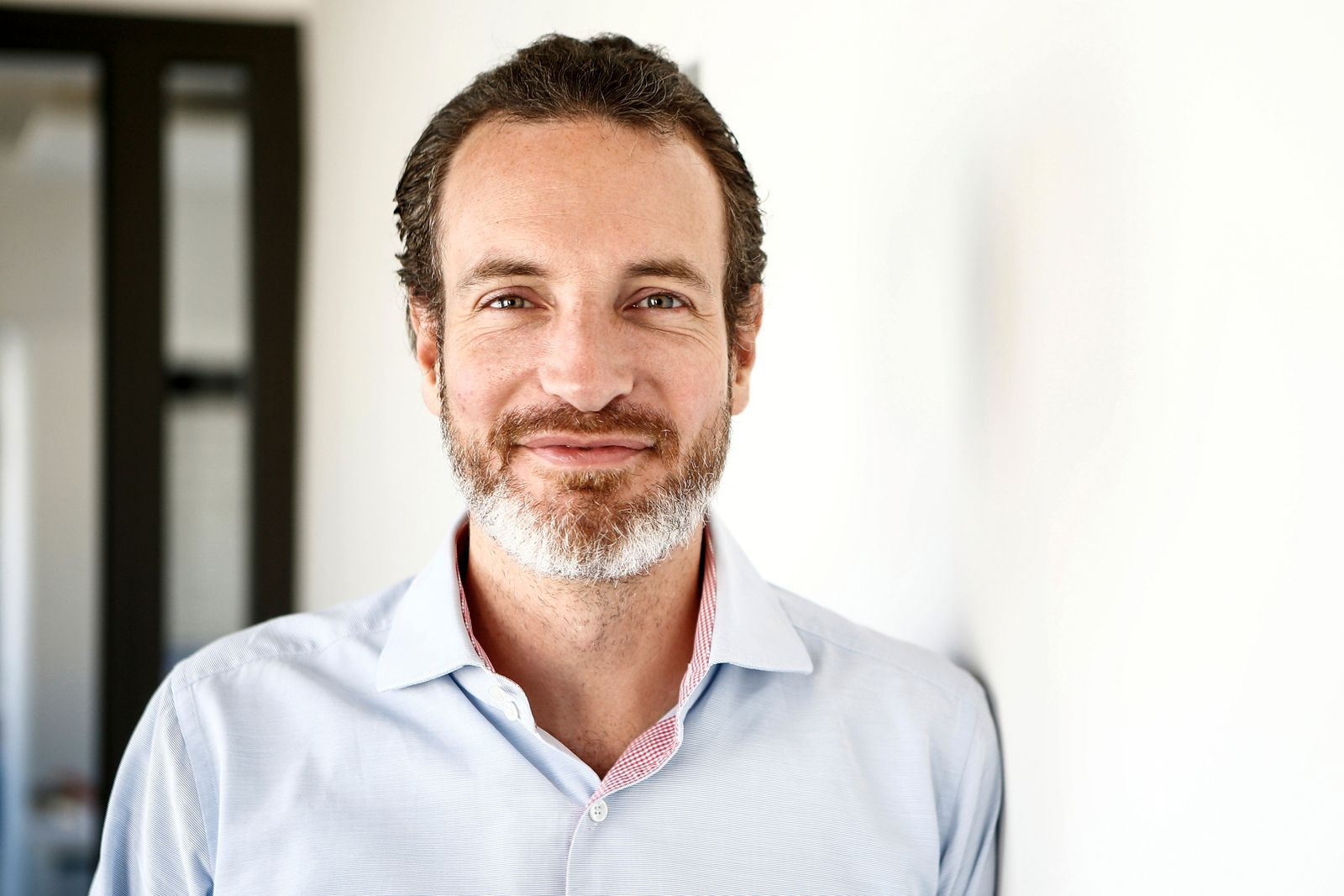 Maximilian Tayenthal, Founder and COO/CFO of the Fintech N26 (Number26), poses for a portrait in Berlin
