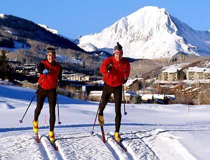 Langlauf: In Aspen/Snowmass gibt es 80 km Loipen