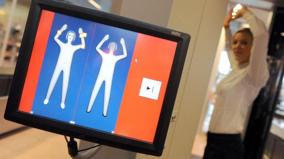 Zu viele Fehlalarme: Die Technologie ist noch nicht so ausgereift, dass sich die Körperscanner für die Praxis eignen