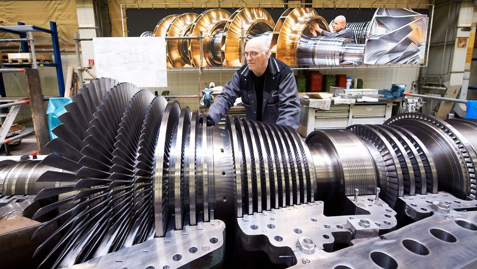 Turbinenherstellung bei MAN: 2015 soll der deutsche Maschinenbau laut Commerzbank um bis zu drei Prozent wachsen