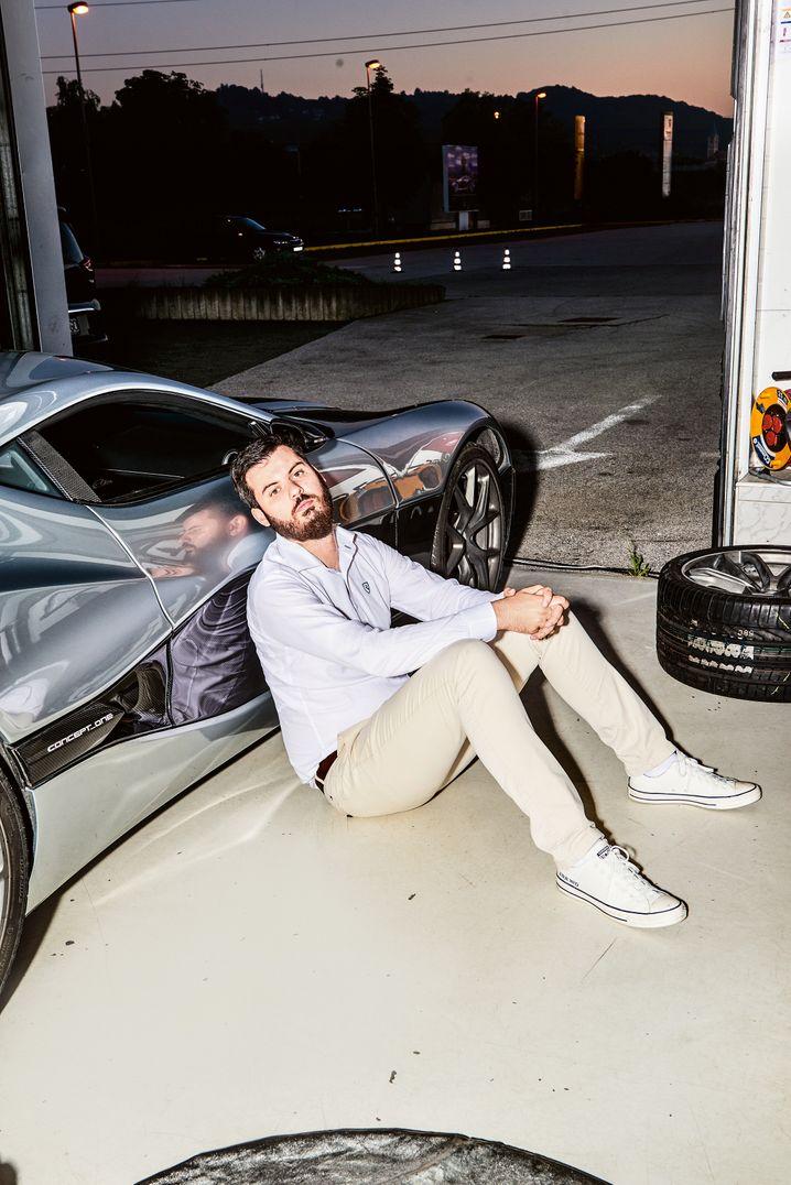 Elektro-Glamour: Mate Rimac baut die stärksten E-Motoren abseits des Rennsports.