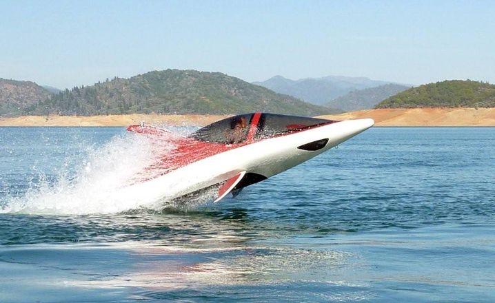 Hü-hüpf: Der Seabreacher ist die Alternative zu - ja was eigentlich? Wahrscheinlich am ehesten zum Delfindasein.