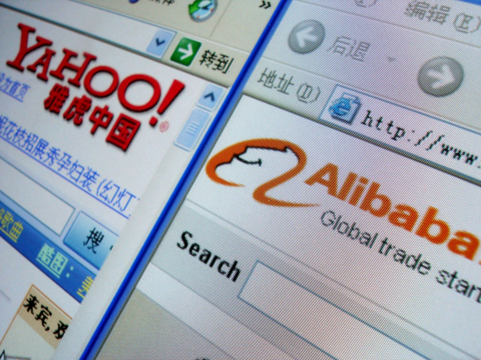 Yahoo/ Alibaba/ China