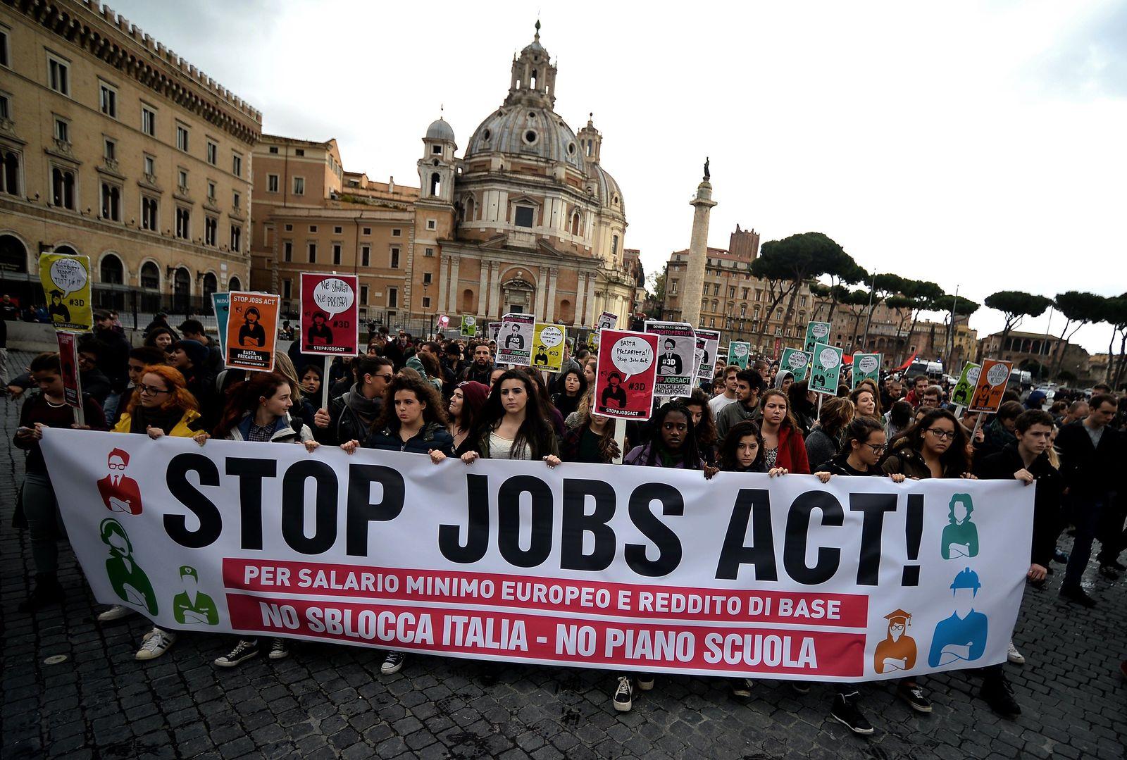 Arbeitsmarktreform Italien