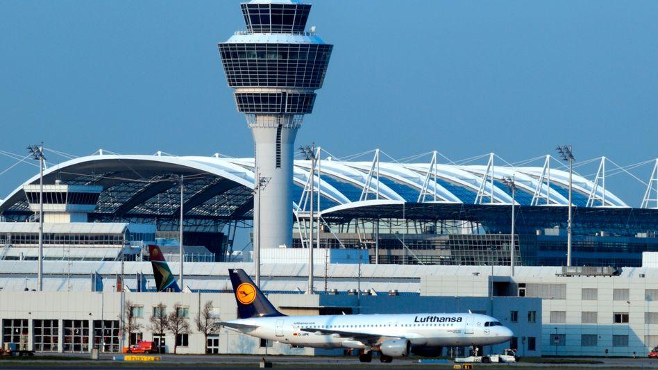 Flughafen München: Hier endet vorerst der Einsatz der Boeing 737 der Royal Thai Air Force