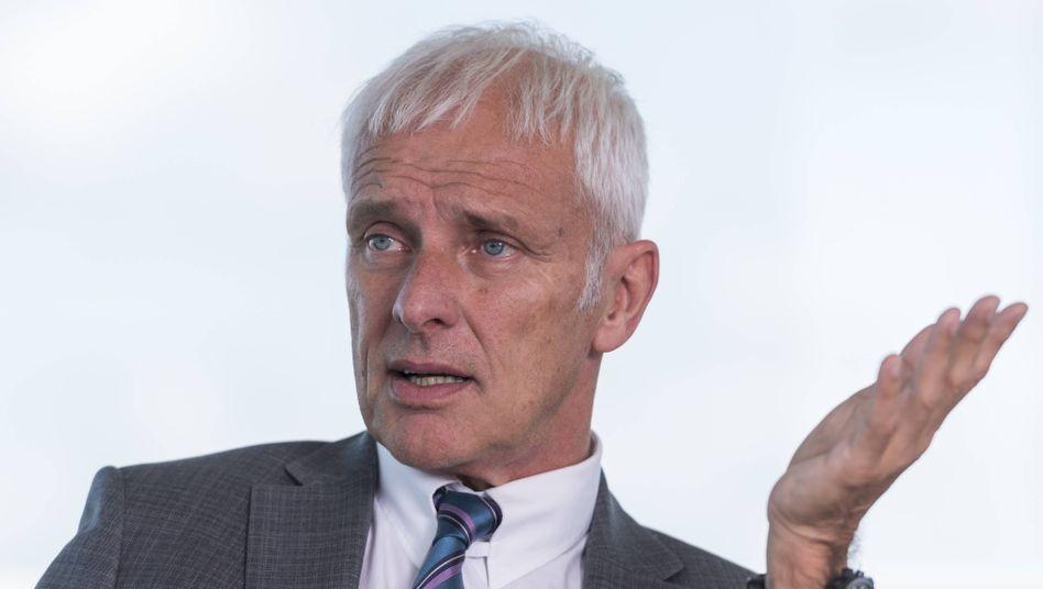 """Ex-Volkswagen-Chef Matthias Müller wird Aufsichtsratschef beim Schweizer Elektroauto-Start-up Piëch Automotive. """"Die Mission der beiden Gründer hat mich spontan begeistert"""", sagt der erfahrene Automanager."""