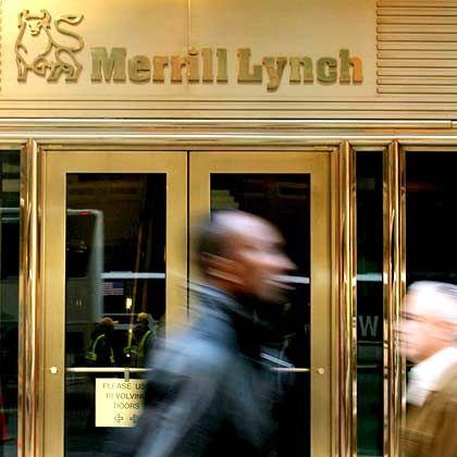 Merrill Lynch: Zehn Milliarden Dollar Abschreibungen, 4,9 Milliarden Dollar Verlust