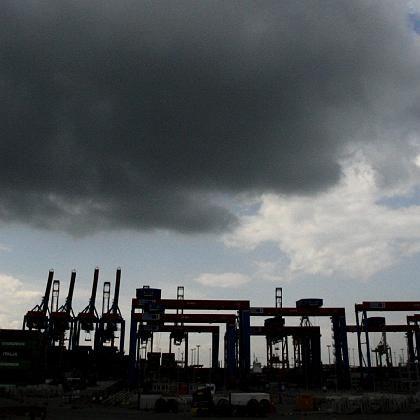 Dunkle Wolken: Die Exportbranche befürchtet das schlimmste Jahr seit 1949