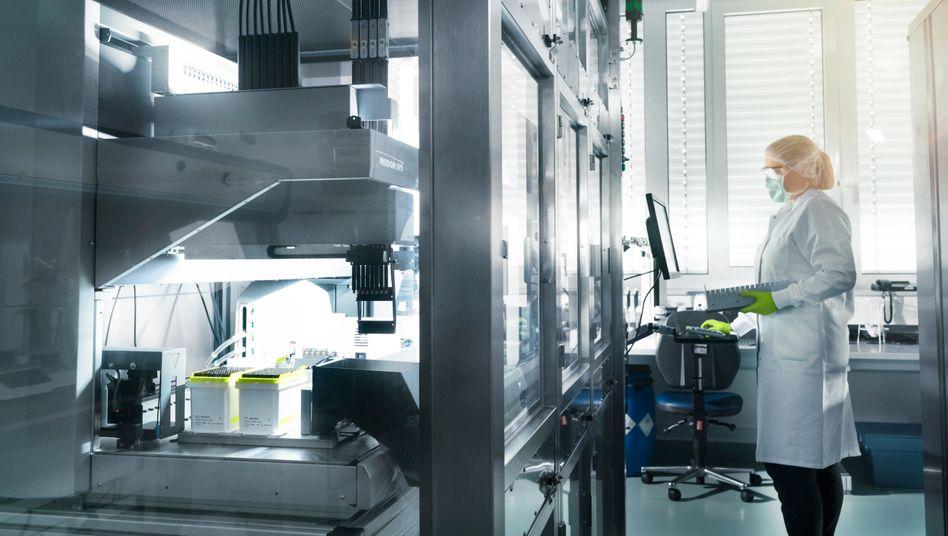 Neuland: Forschungslabor der Impfstofffirma Biontech.