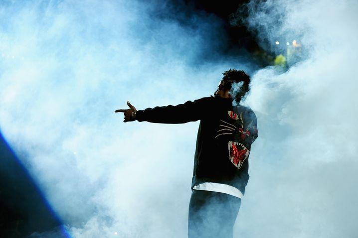 Der Megastar macht die Marke Puma wieder heiß: Rapper Jay-Z.