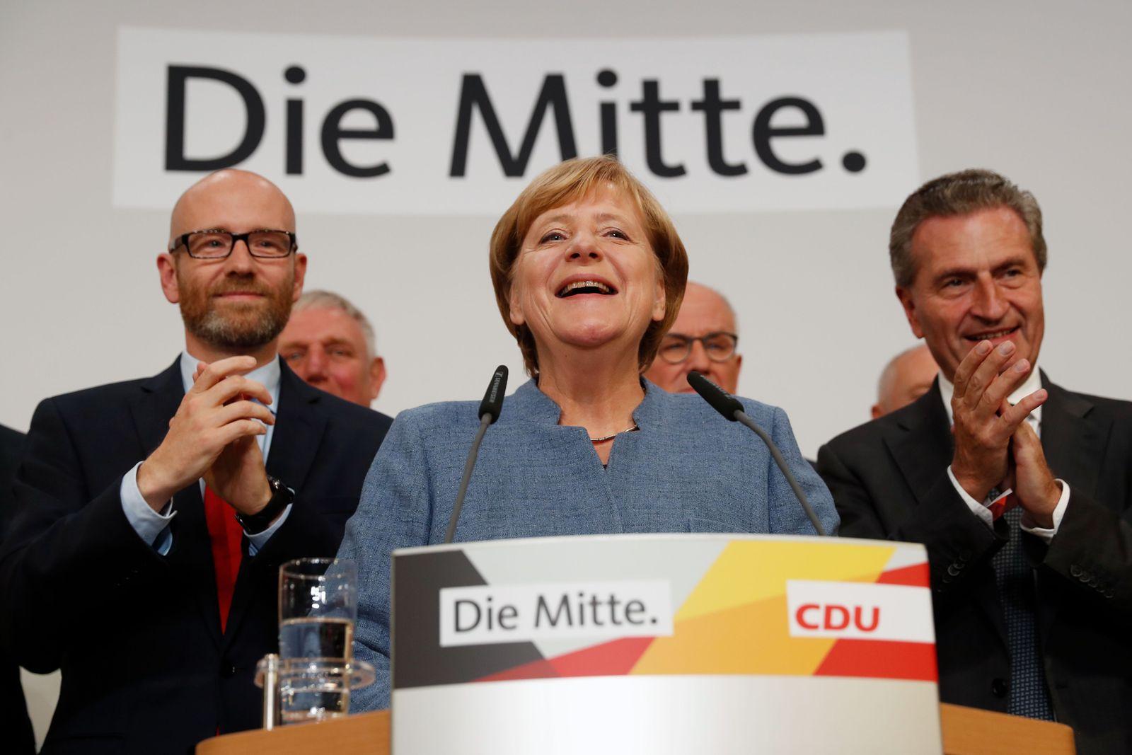 bundestagswahl/ 2017/ CDU/ Merkel