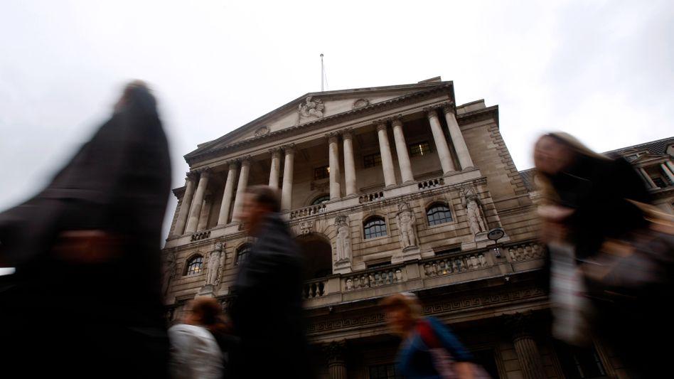 Rolle unbekannt: Die Bank of England wusste möglicherweise mehr von Manipulationen der Marktzinsen als bisher bekannt