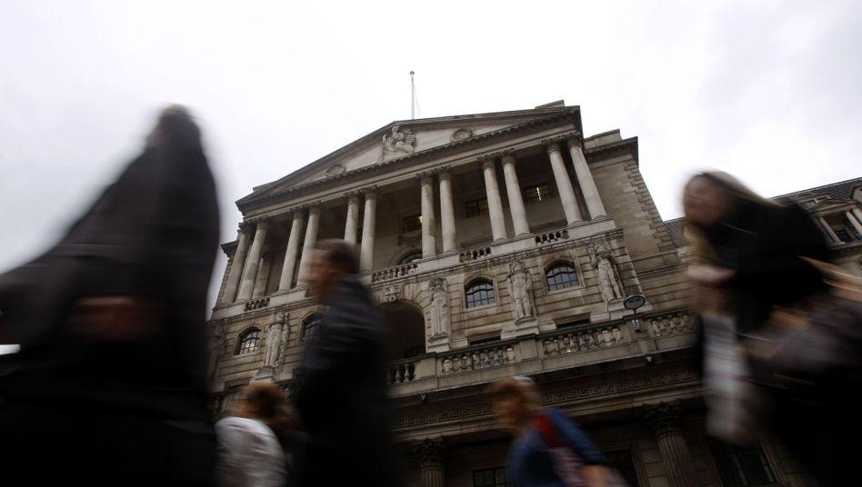 """Zentrale der Bank of England: """"Die Inflation wird 2012 stark abnehmen"""""""