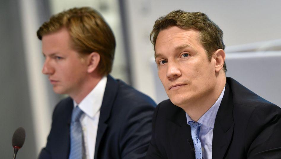 Rocket-Internet-CEO Oliver Samwer (r.): Krawattenmann des Jahres