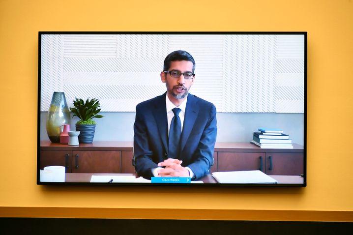 Hybrides Arbeitsmodell im Großkonzern: Google-Chef Sundar Pichai wagt ein Experiment