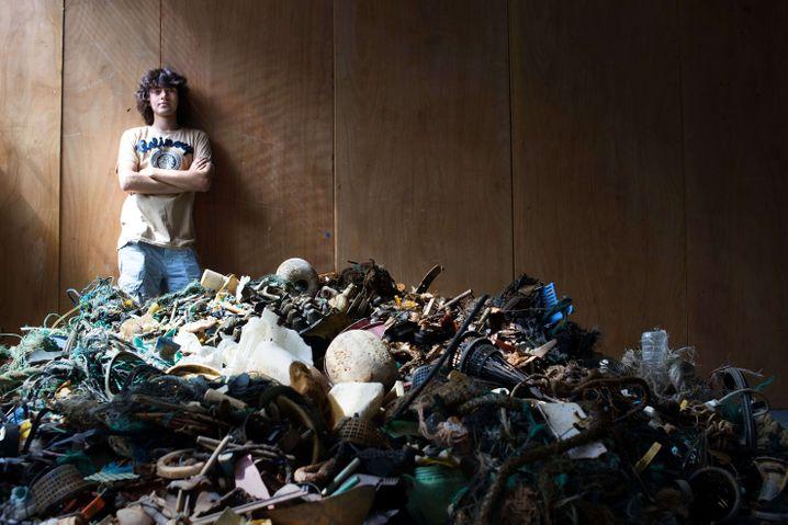 "Der 19-jährige Boyan Slat steht hinter dem Projekt ""The Ocean Cleanup"""
