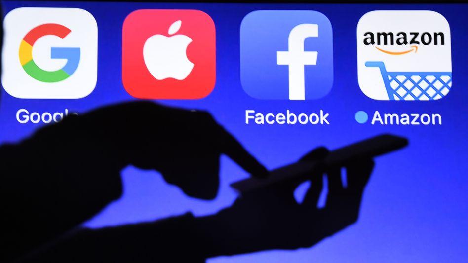 Big Tech: Vier Konzerne aus den USA bestimmen das Digitalgeschäft. Sie machen nun auch Front gegen den Versuch der EU, ihre Macht zu begrenzen