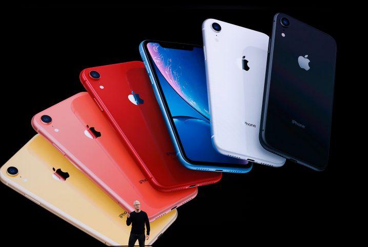 Vorstellung des iPhone 11 am Dienstag in Cupertino: Die Grundversion des iPhone 11 kostet 799 Euro und ist damit günstiger als erwartet