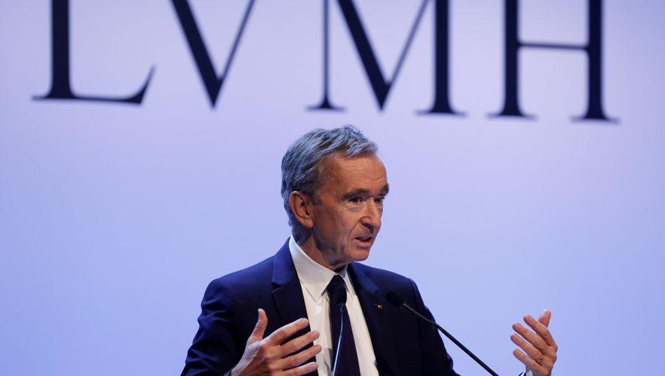 """Bernard Arnault: Der LVMH wirft dem Tiffany-Topmanagement """"Unehrlichkeit"""" vor - und will das US-Unternehmen nicht mehr kaufen"""