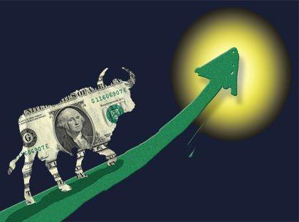 Aufschwung: Die Stimmung bei den Anlegern wird besser