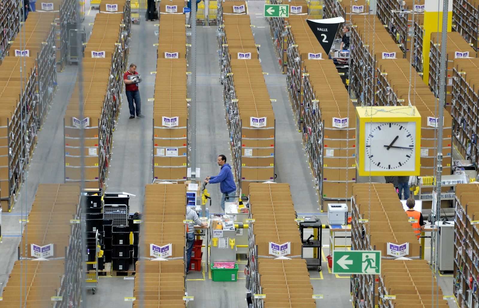 Amazon Logistik Zentrum