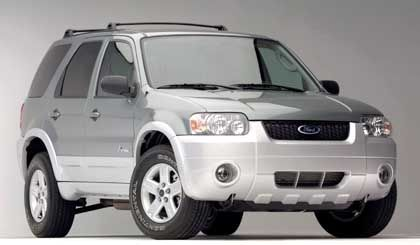 Bullig und dennoch erstaunlich sparsam: Der Ford Escape, der im kommenden Jahr auf den Markt kommen soll - inklusive Hybrid-Antrieb