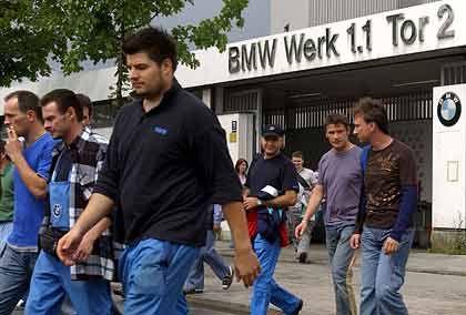 Feierabend in München: Zahlreiche Arbeitszeitmodelle ermöglichen eine hoch flexible Produktion
