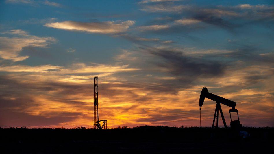 Fracking in USA: Viele Fracker haben wegen der niedrigen Ölpreise ihre Produktion auf Eis gelegt