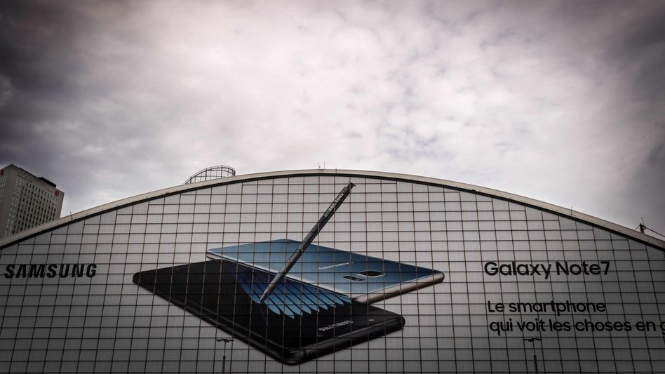 Samsung: Die Koreaner müssen wegen des Note-7-Debakels ihre Prognose drastisch senken