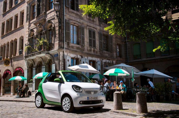 Günstiges E-Auto: Als ED für electric drive ist der Smart ein zweisitziges E-Auto ab 21. 940 Euro
