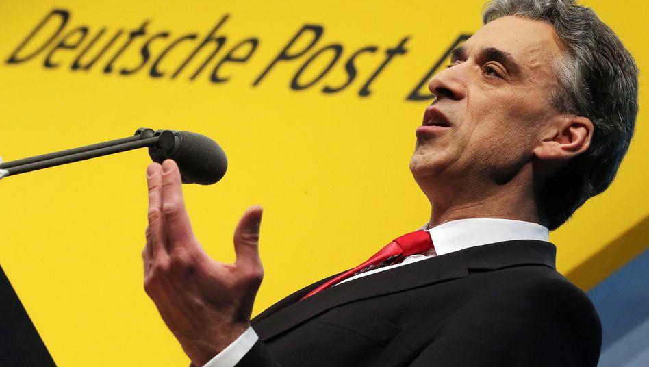 Post-Chef Frank Appel schickt die Aktie mit schlechten Nachrichten tief in den Kurskeller
