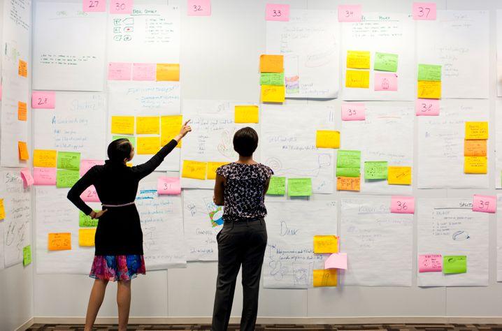 So schon mal gar nicht: Eine unübersichtliche Zettelwirtschaft ist der Alptraum des Professional Organizers