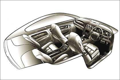 Sitzkonfiguration: größere Rundumsicht und entspanntere Haltung