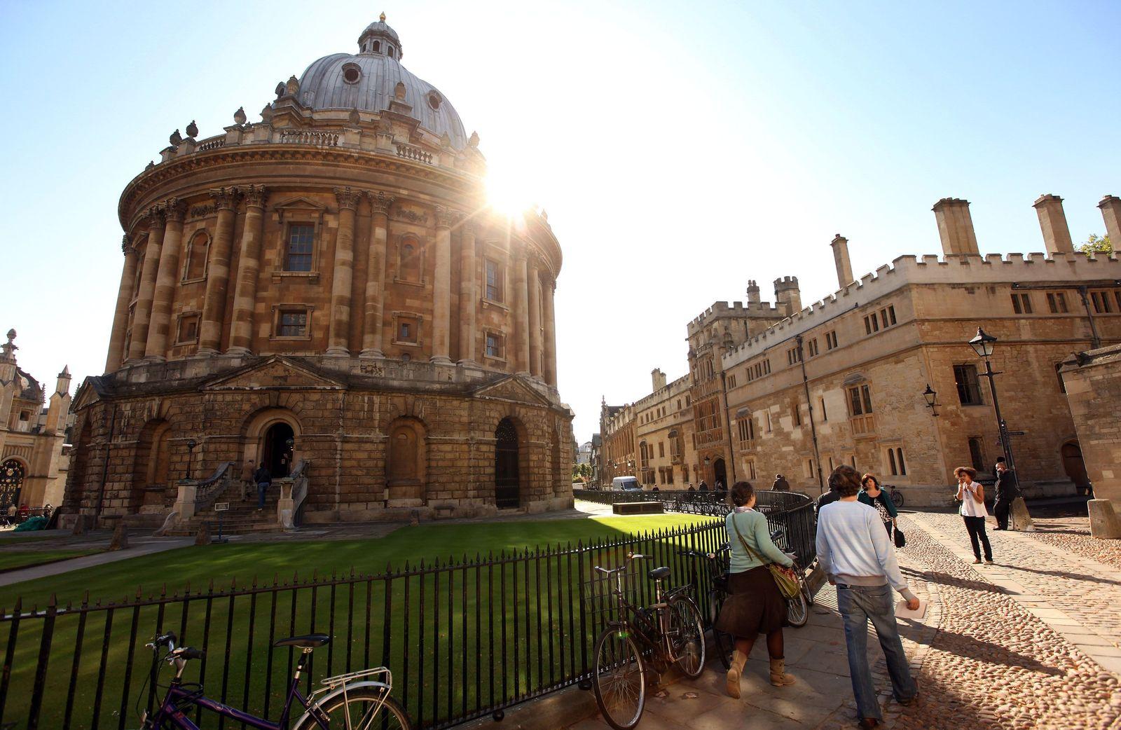 Studenten / Universität / Oxford